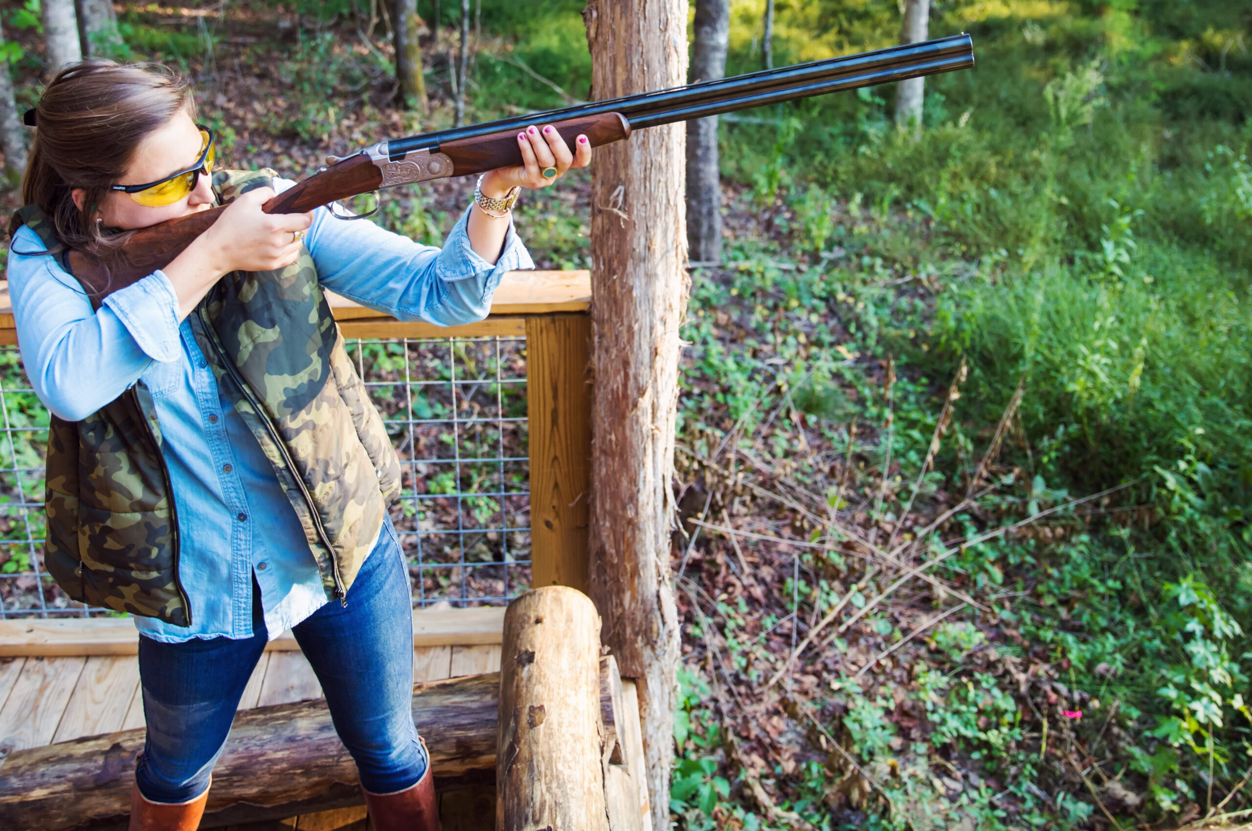 Five stand shotgun sporting clays shooting Charlotte, North Carolina