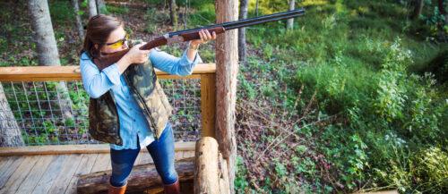 Five stand shotgun sporting clays shooting Charlotte, North Carolina